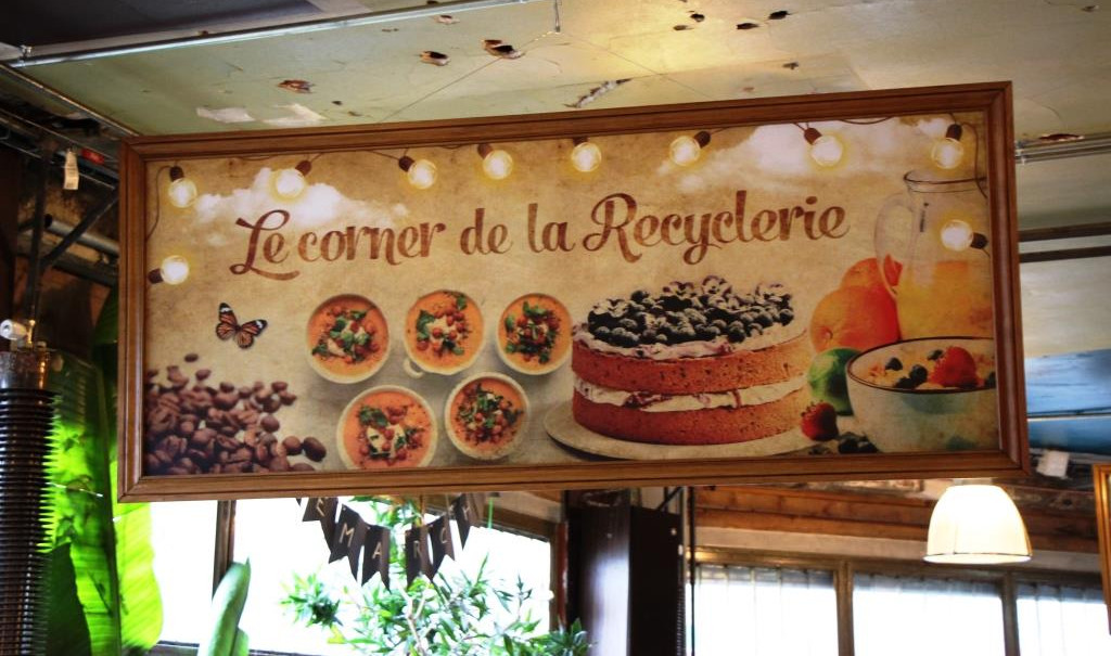 Paris Cafe Recyclerie 1