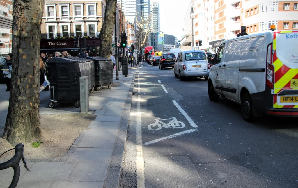 London Bike Lanes 15