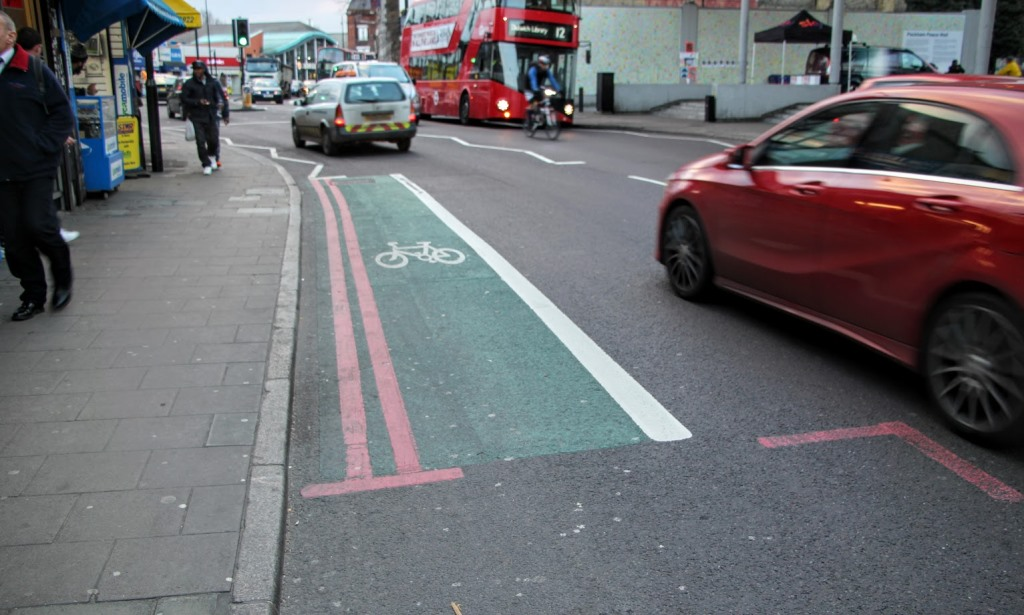 London Bike Lanes 2