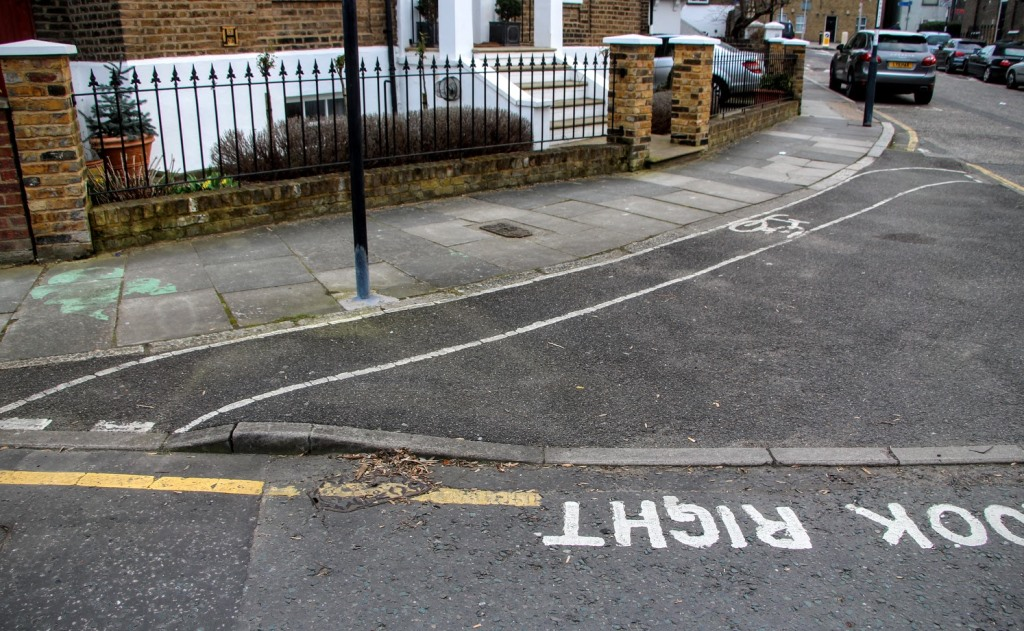 London Bike Lanes 3