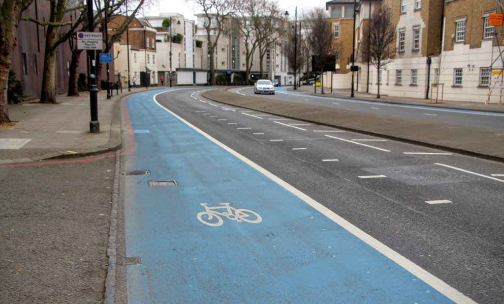 London Bike Lanes 4