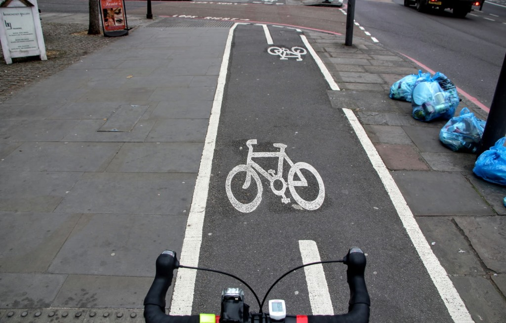 London Bike Lanes 7