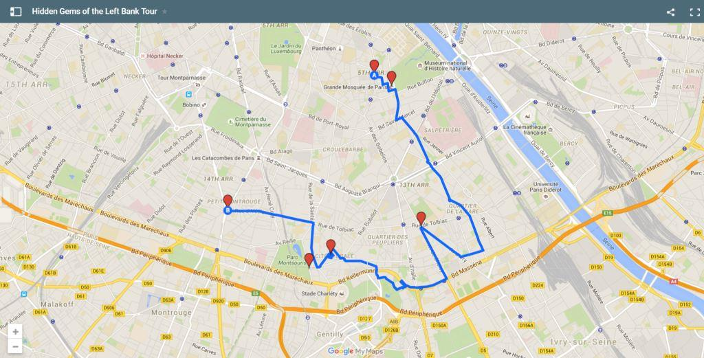 Paris Bike Tours Hidden Gems of the Left Bank Tour