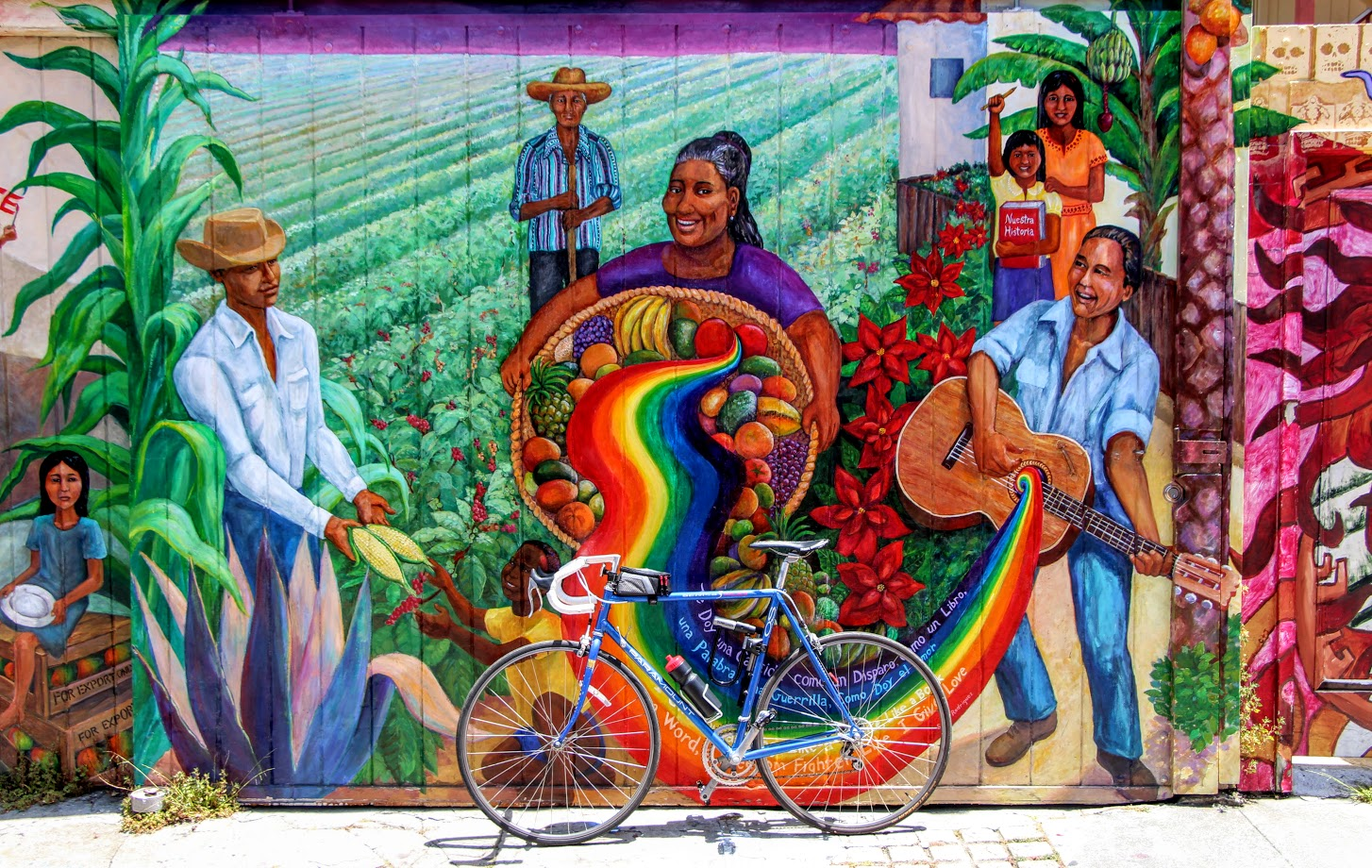Balmy Alley Bike Tour Through San Francisco S Mission District Murals