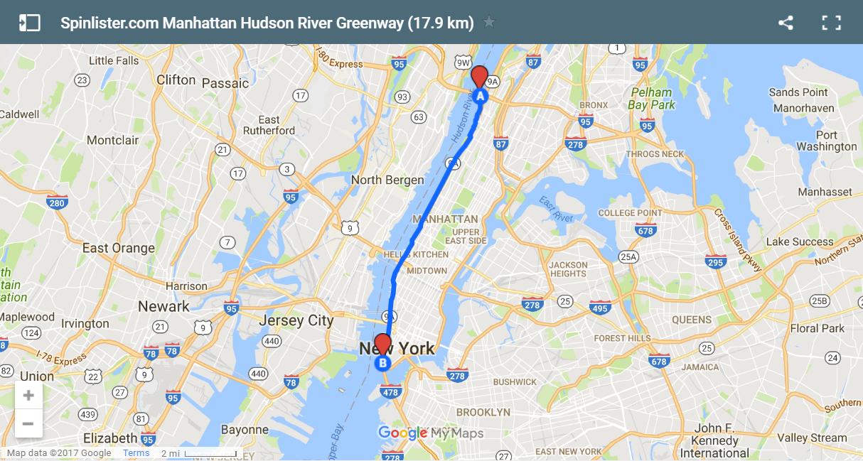 6 New York Hudson River Greenway