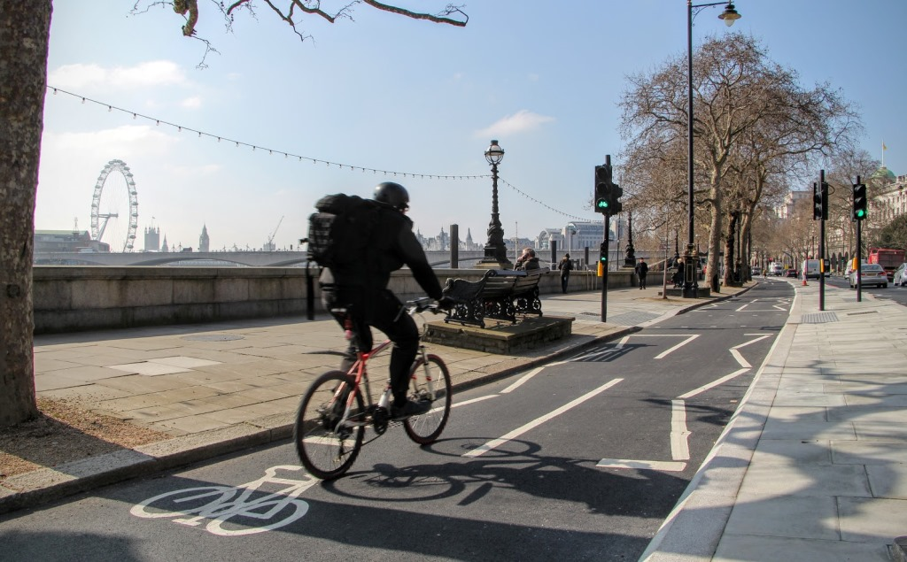 London Bike Lanes 5