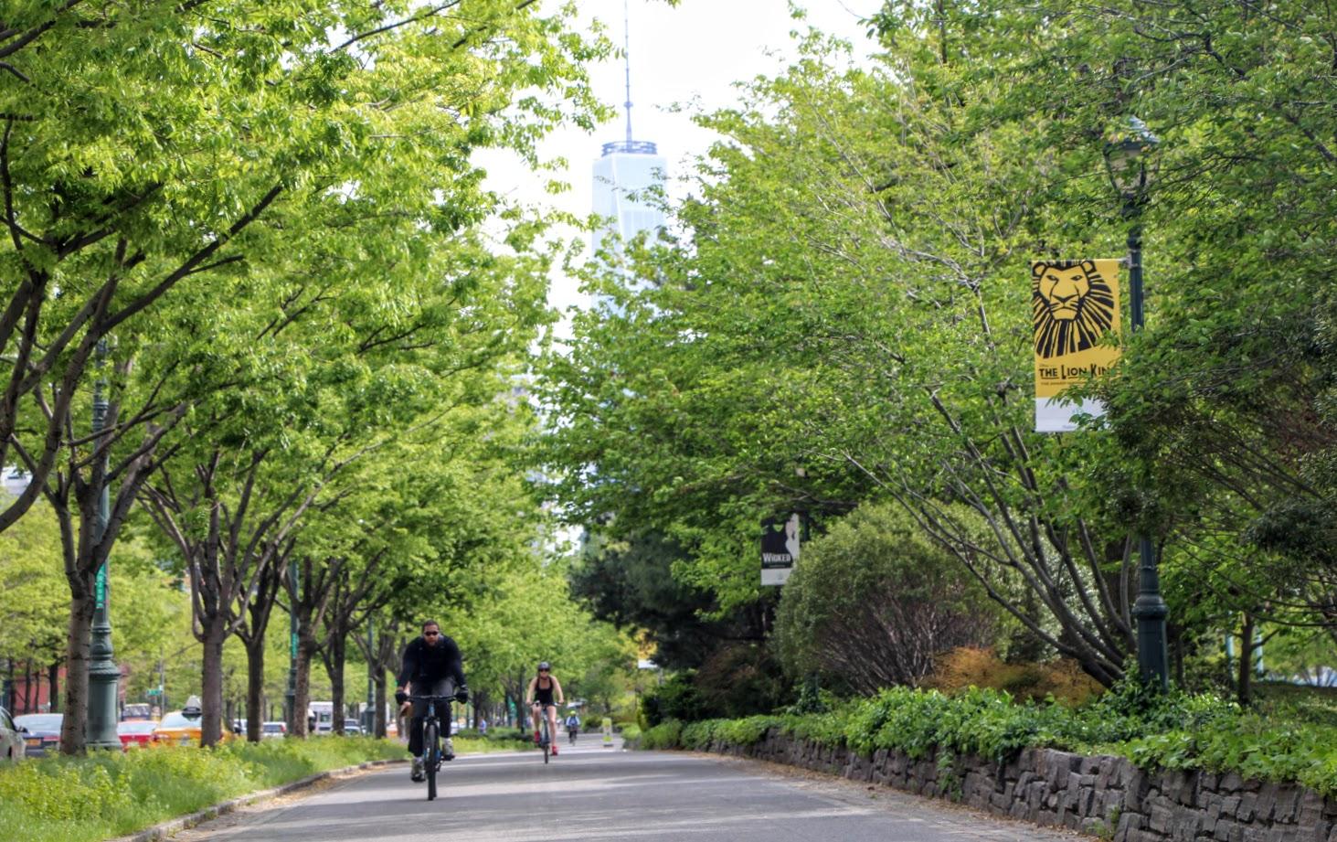 Hudson River Greenway: Manhattan's Best Waterfront Bike Trail