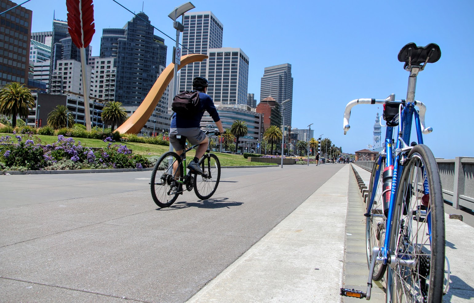 Embarcadero SF: A Bike Ride Along The San Francisco Bay Trail
